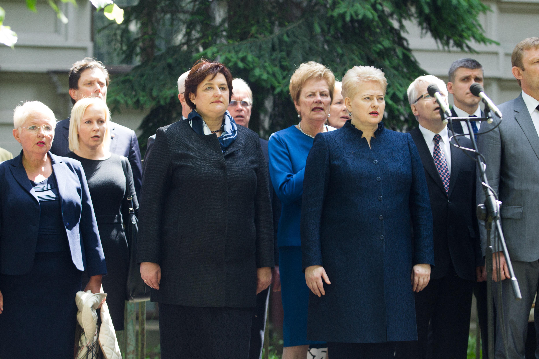 Čigriejienė, Grybauskaitė