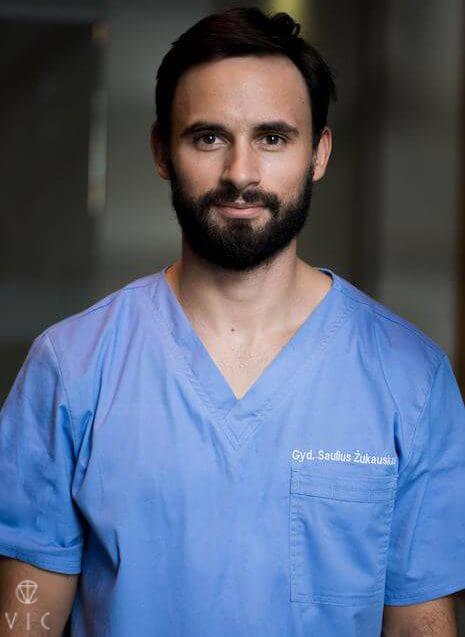 Gyd. odontologas - burnos chirurgas Saulius Žukauskas