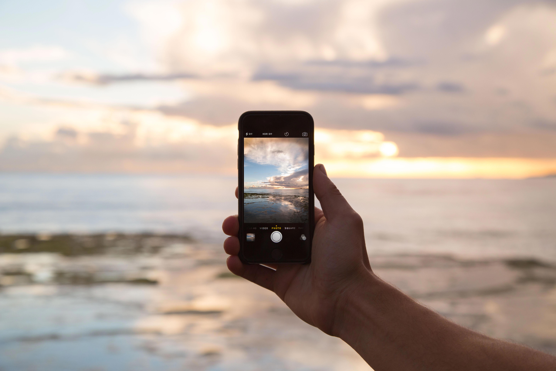 Mobilus telefonas vasarą
