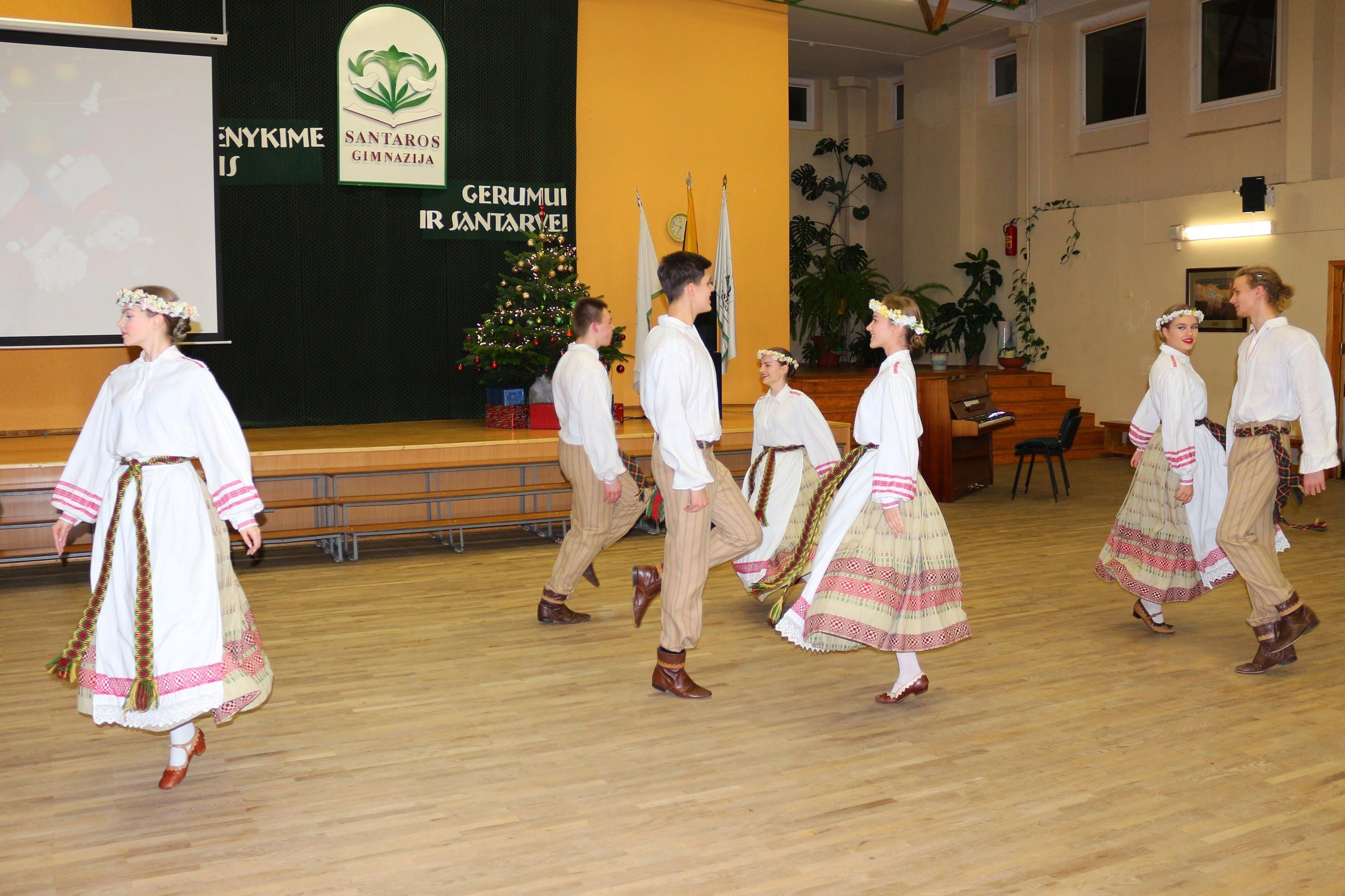 Santaros šokių kolektyvas