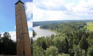 Birštono apžvalgos bokštas – aukščiausias šalyje