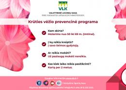 prevencinės programos