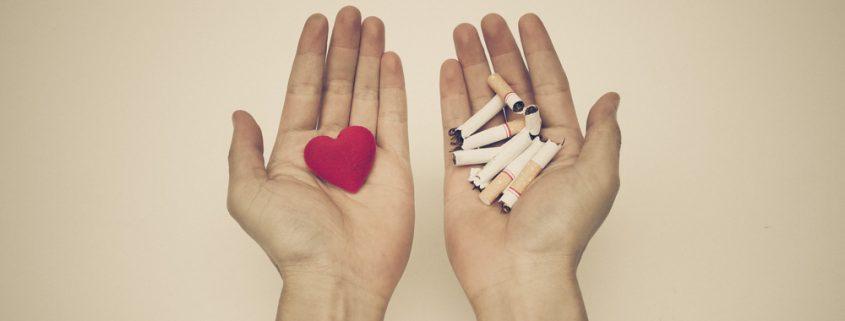 rūkymo poveikis širdies sveikatai)