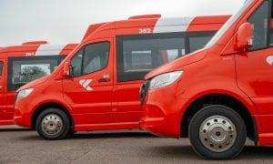 Naujiena Kaune  – mažieji autobusai