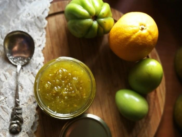 Žalių pomidorų džemas