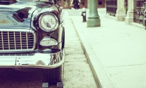 Dyzelinis automobilis teršia mažiau