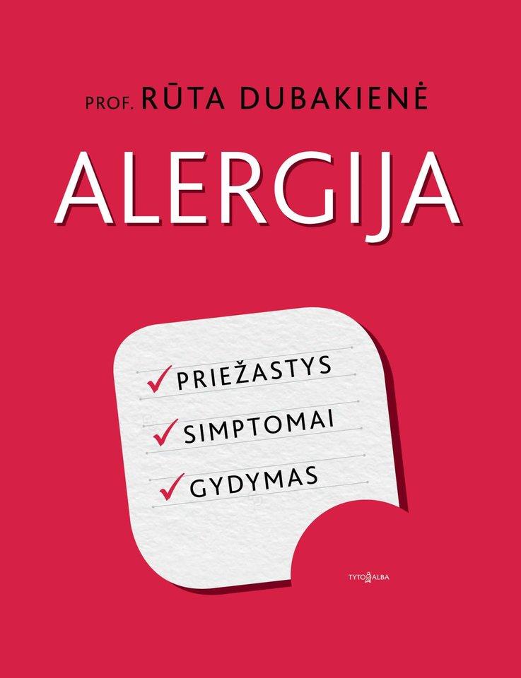 Rūtos Dubakienės knyga apie alergiją