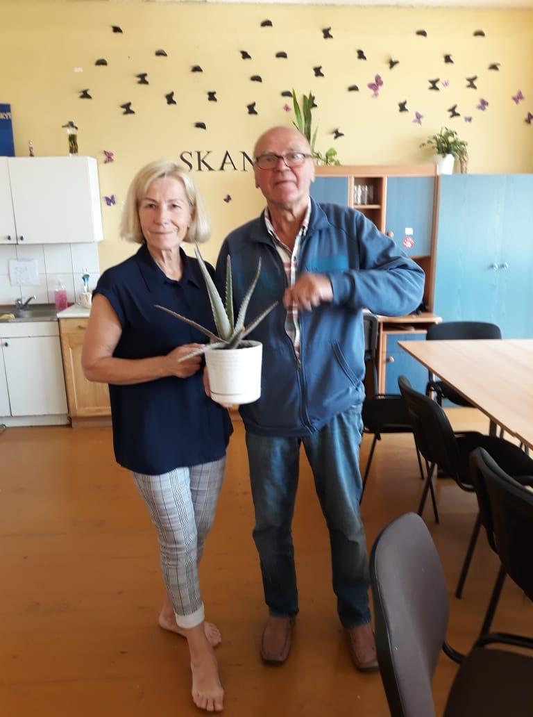 """Marijampolės senjorų ir neįgaliųjų dienos centras """"Židinys"""""""