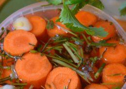 Raugintos morkos