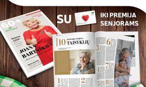 Naujas žurnalo 60+ numeris