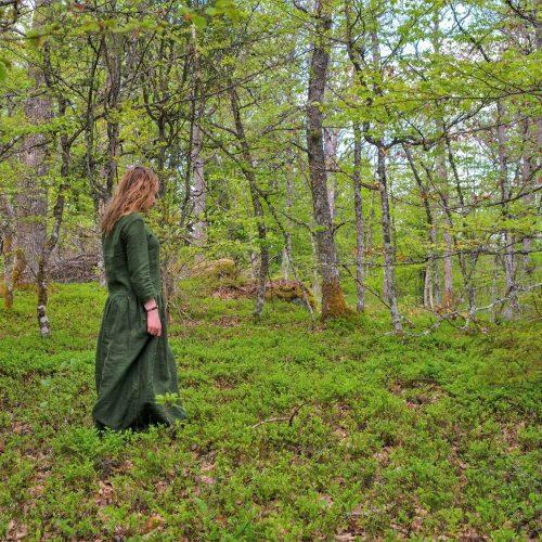 Mila Monk; miško terapija