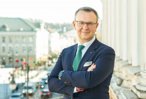 Lietuvos bankų asociacijos (LBA) prezidentas M. Zalatorius