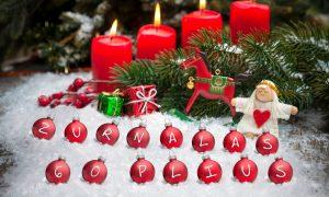 Gaisrą gali sukelti Kalėdų eglutė!