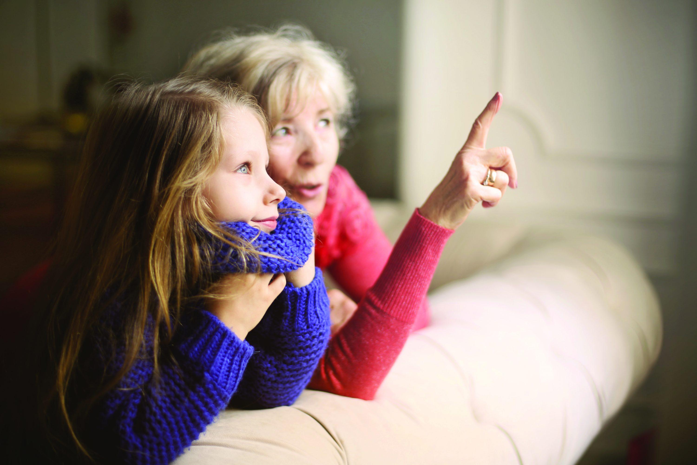 bendravimas su anūkais