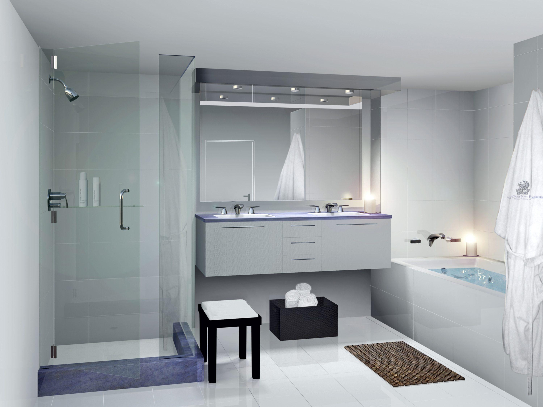 kalkės ant dušo