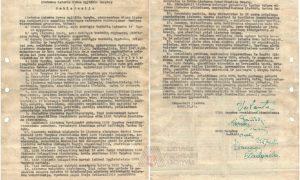 Rastas istorinis dokumentas
