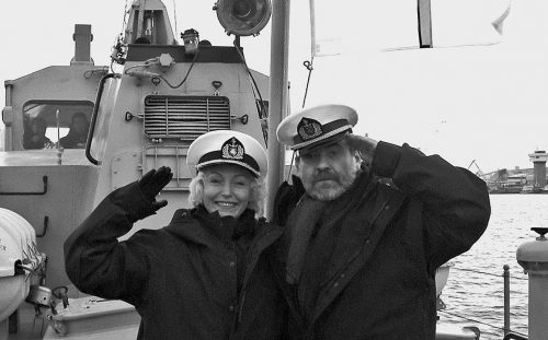 K. Smoriginas su žmona Dalia Brenciūte