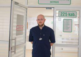 Endoskopuotojas Justinas Birutis