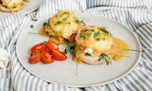Benedikto kiaušinių receptas: žingsnis po žingsnio
